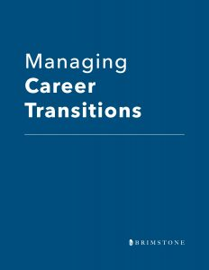managing career transitions