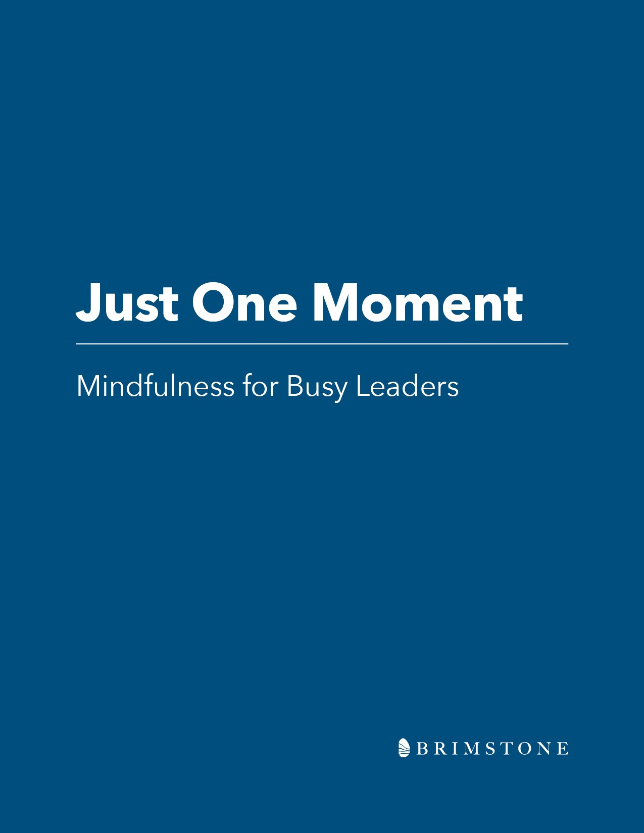 mindfulness for busy leaders